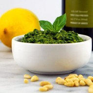 Simple Pine Nut Pesto