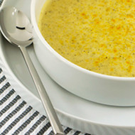 Paleo Cheesy Broccoli Soup