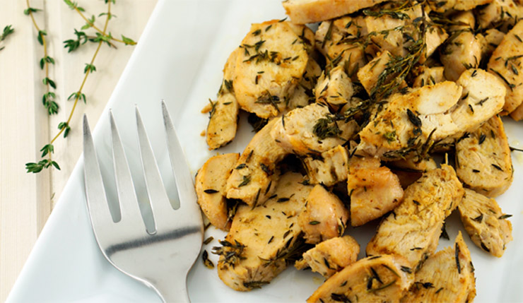 Rosemary Thyme Chicken - Whole Lovely Life