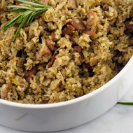 Grain Free Cauliflower Rice Stuffing