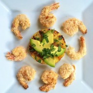 Maple Coconut Shrimp with Grilled Pineapple