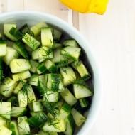 Dill + Lemon Cucumber Salad