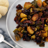 Brussel Sprouts With Dates + Bacon