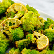Romanesca With Roasted Lemon + Garlic