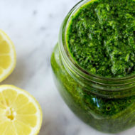 Detoxifying Parsley Cilantro Sauce