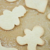 Coconut Flour Cut-Out Sugar Cookies